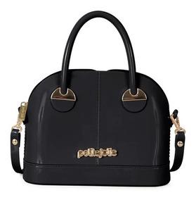 Bolsa Feminina Petite Jolie Mind Bag Pj3529 Preto   Adrys