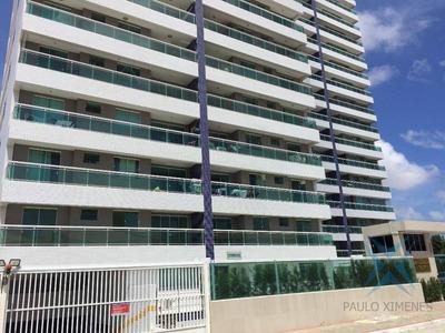 Apartamento Residencial À Venda, Engenheiro Luciano Cavalcante, Fortaleza. - Ap0375