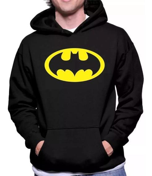 Blusa De Frio Moletom Super Herói Batman Dc Comics Promoção