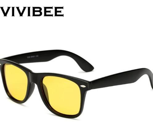Óculos De Sol Amarelo Para Motoristas Polarizado Vivibee