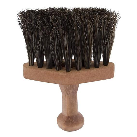 Pincel De Barbear Com Cerdas Naturais. Ref: 3221