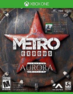 Metro Exodus Aurora Edicion Limitada Xbox One Nuevo