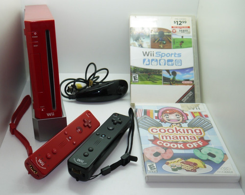 Nintendo Wii  Edicion Roja
