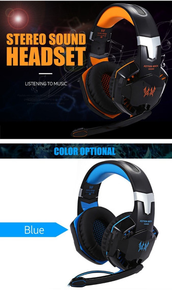 Kit Gamer Profissional Headphone + Mouse 5500 Dpi + Mousepad