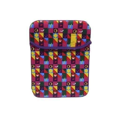 Capa Lap Top Dupla Face Neoprene - Happy Rock
