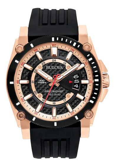 Relógio Masculino Bulova 98b152xg Borracha