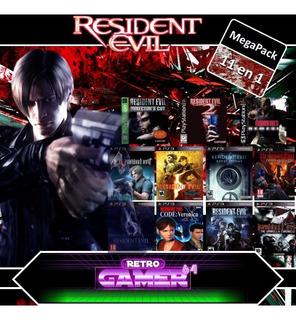 Combo 11en1 Resident Evil Collection 1 2 3 4 5 6 Revelation