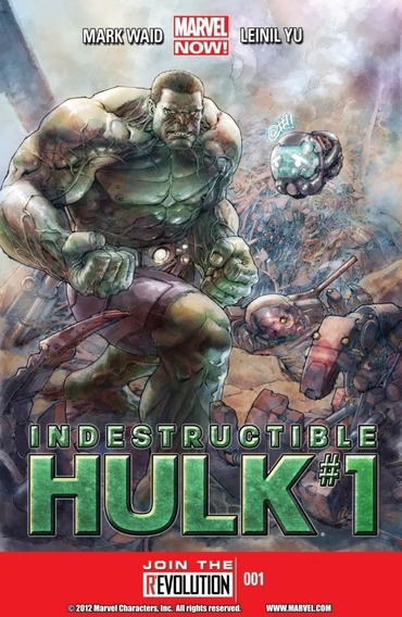 Indestructible Hulk #1 (2012) Marvel