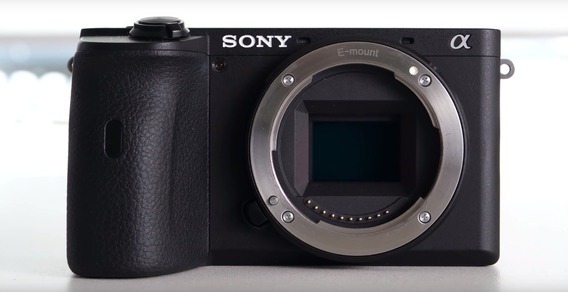 Camera Mirrorless Sony A6600 - Corpo