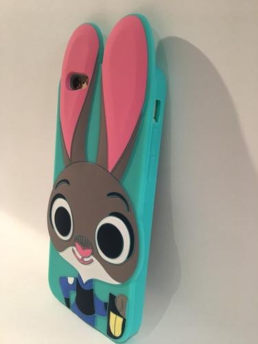 27263a0b287 Funda De Silicona Conejo Verde Para iPhone 6, 6s - $ 240,00 en ...