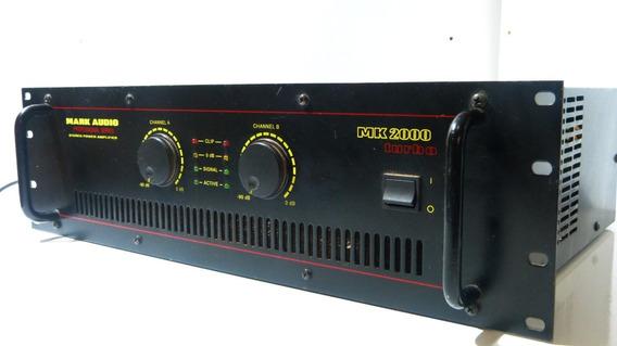 Amplificador Mark Audio Mk 2000 Turbo
