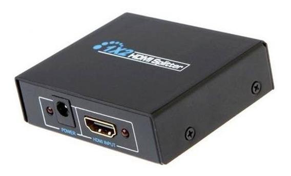 Splitter 1x2 1 Entrada 2 Saídas Hdmi 1080p 3d Distribuidor