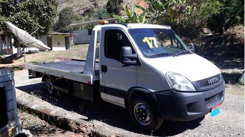Guincho Iveco Daily 35s14 Ano 17 Plataforma Hidraulica  Phc.