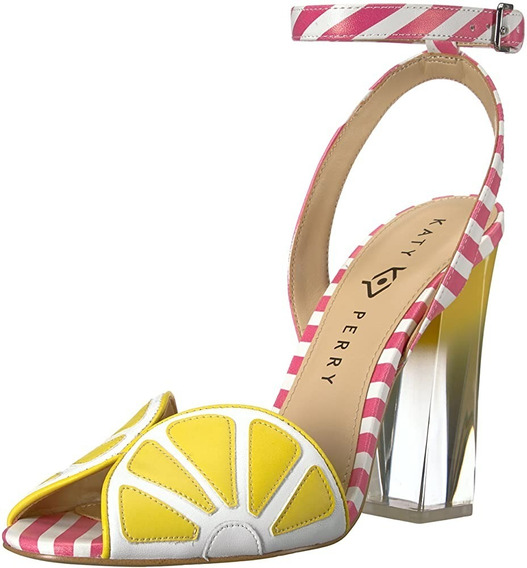 The Citro-smooth Nappa Zapatillas Yellow/pink Katy Perry