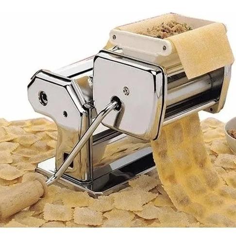 Imagen 1 de 9 de Maquina Fabrica Pastas Acero Fideos Raviolera Tallarin Cinta