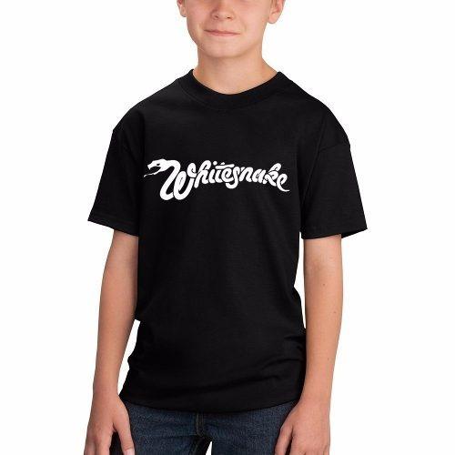 Remera Niño Niña Whitesnake Rock Musica