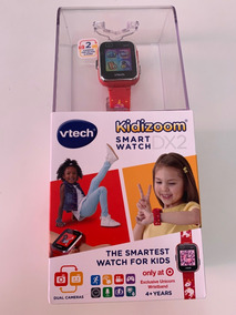 Relógio Infantil Smartwatch Kidzoom Vtech Dx2 Vermelho