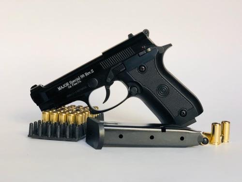Pistolas Traumaticas Major Ekol Pa 9mm 2 Proveedor +50 Tiros
