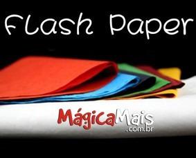 Papel Flash (flash Paper) - Laranja