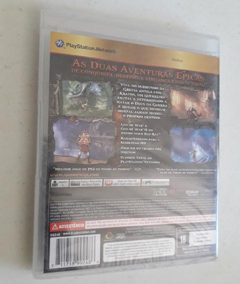 Game God Of War Collection Ps3 Novo Lacrado Playstation 3