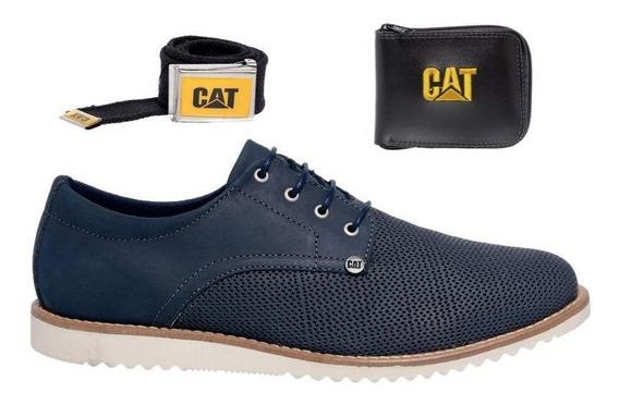 Sapato Casual Social Masculino Lançamento + Kit