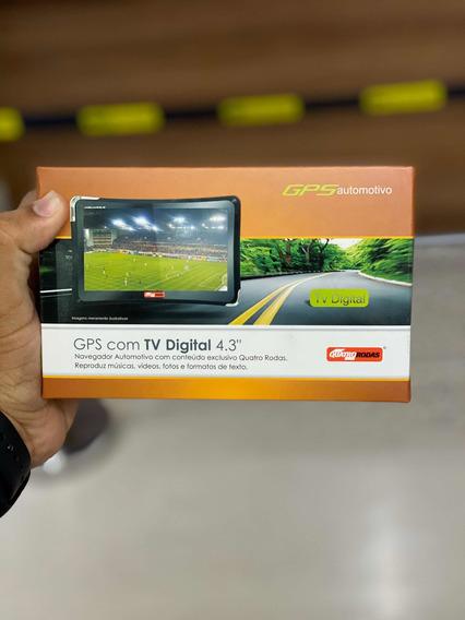 Gps Com Tv Digital 4.3