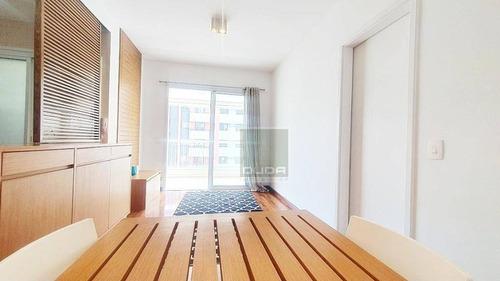 Apartamento Para Alugar, 51 M² Por R$ 3.500,00/mês - Brooklin - São Paulo/sp - Ap0812
