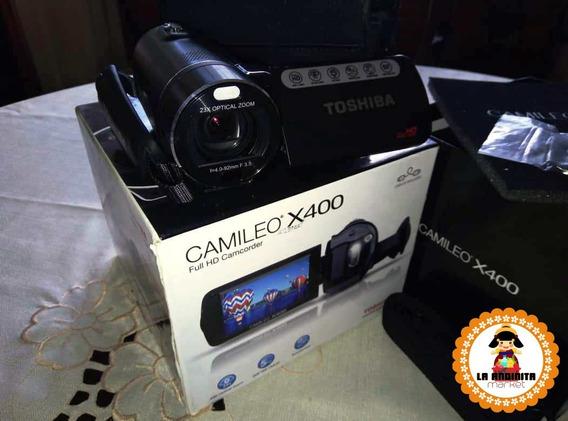 Filmadora Toshiba Camileo X400