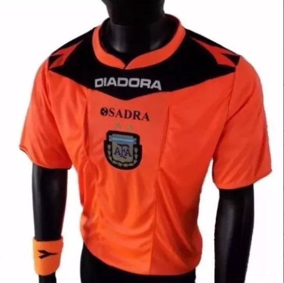 Camiseta Arbitro Diadora Sadra Oficial 2016/17 + Par Medias