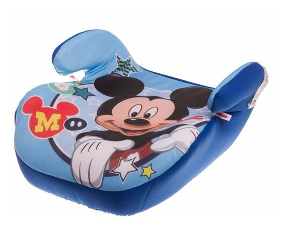 Butaca Niños Booster Sin Respaldo Disney Mickey Mundo Manias