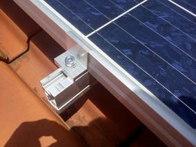 Kit 150 Presilha Central + 50 Lateral Fotovoltaico Solar #36