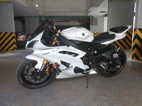 Yamaha R6 2015 Blanca