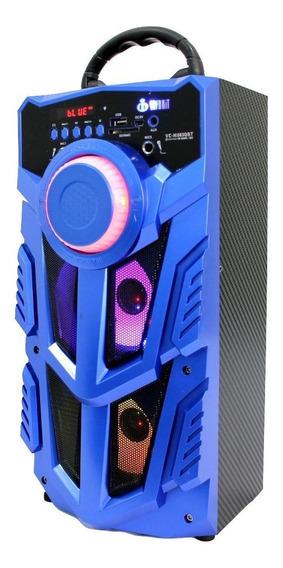 Caixa de som Infokit VC-M883BT portátil sem fio Azul 110V/220V