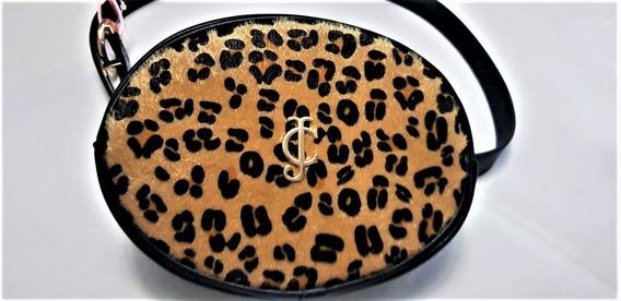 Bolsa Mujer Juicy Couture Cangurera Fanny Animal Print M-l