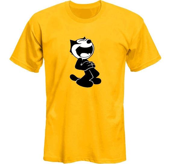Remeras El Gato Felix The Cat Retro Risa *mr Korneforos*