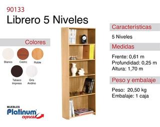 Librero Eco 5 Niveles