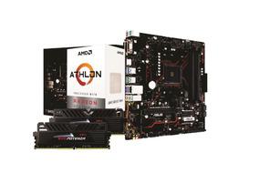 Kit Amd Athlon 200ge Asus Prime B450m G 2x 4gb Ptz 2400mhz