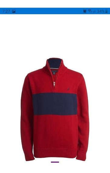 Sweater Náutica, Talla 14/16 Juvenil, Nuevos