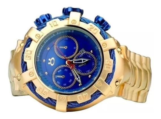 Relógio Masculino Pulseira Em Aço Inox Original Marca Orizom