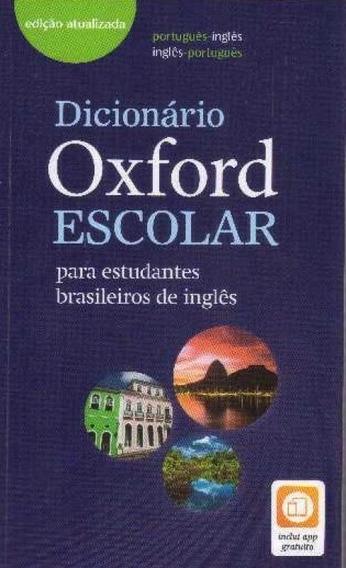 Dicionário Oxford Escolar: Para Estudantes Brasileiros De I