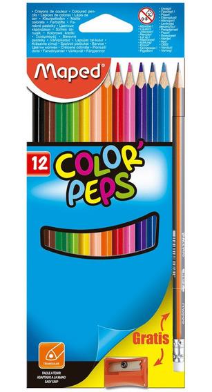 Colores Maped Peps 12pz