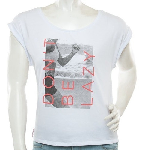 Topper - Remera - Estampada - Dama - Dont Be Lazy- New Konas