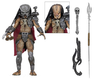 Neca Predator 7 Scale Action Figure Ultimate Ahab Predator