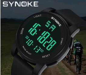 Relógio Digital Masculino Esportivo Aprova D´água Barato