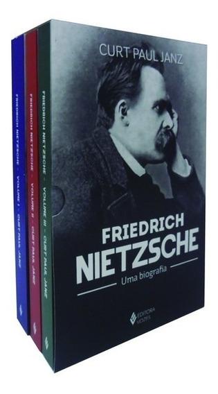 Livros- Friedrich Nietzsche: Uma Biografia - Caixa 3 Volumes