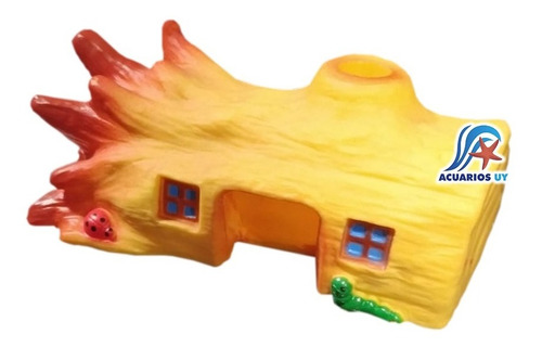 Imagen 1 de 2 de Casa Con Forma De Tronco Para Hámster. Meadow Pet