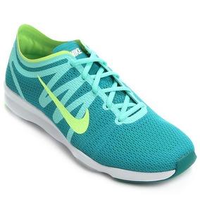 Tênis Nike Air Zoom Fit 2 Feminino - Azul E Verde Limão