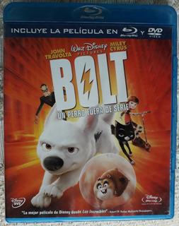Blu Ray + Dvd Bolt Original Nacional
