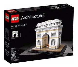 Lego 21036 Architecture Arco Del Triunfo 12 Msi Envio Gratis