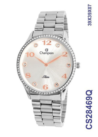 Relogio Feminino Champion Slim Cs28469q